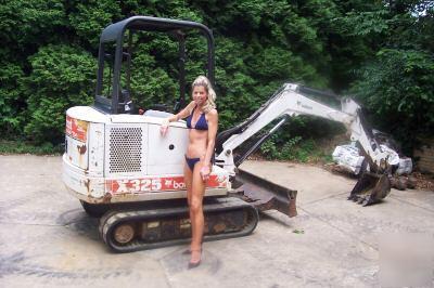 2000 Bobcat 325C Mini Excavator With 15 Bucket in addition  on 2000 bobcat 325c mini excavator with 15 bucket