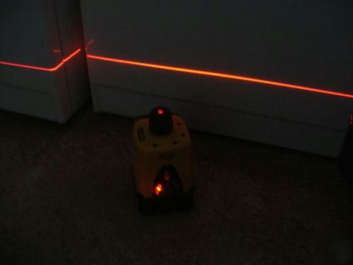 Wizard lasermark LM30 rotary laser transit level cst