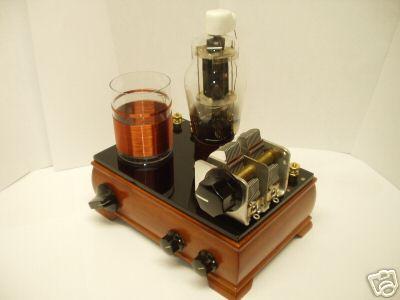 am one tube regen radio crystal clear. Black Bedroom Furniture Sets. Home Design Ideas