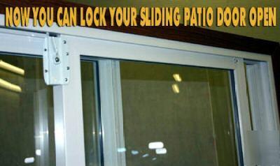The Smart Lock Lock Your Sliding Patio Door When Open