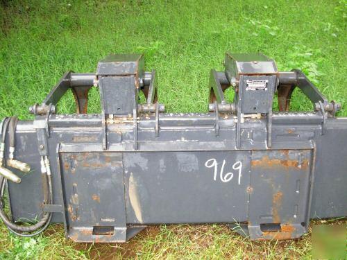 Bobcat 66 Industrial Grapple Bucket Skid Steer