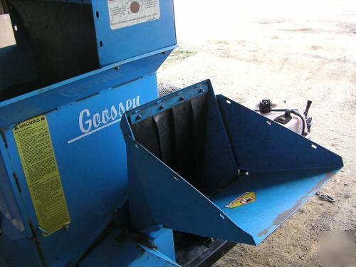 Goosen Cs1800 Wood Chipper Shredder