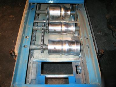 knudson seamless gutter machine