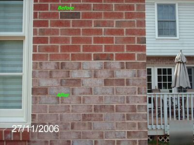 Brick Block Concrete Stone Stain Tint Dye Sample Kit