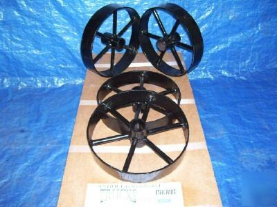 hit and miss antique engine cart wheels 2