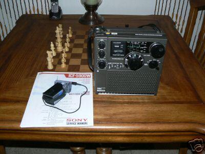 sony icf 5900w user manual