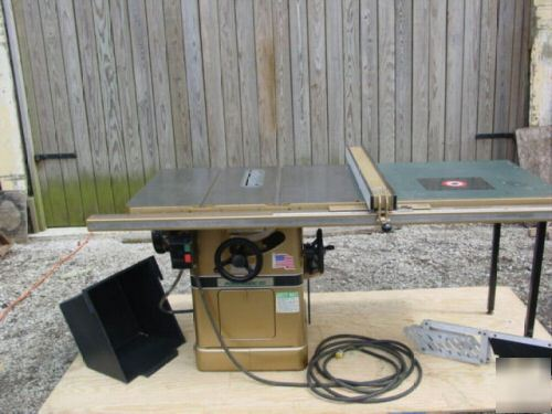 Powermatic 66 table saw biesemeyer t square fence