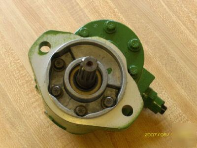 John deere 1010 tractor hydraulic power steering pump