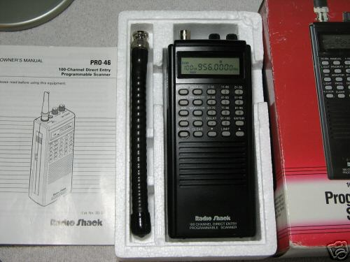 pro 46 scanner realistic radio shack 100 channel 7a3 rh machine tools com Radio Shack Pro 2.0 Radio Shack Electronic Parts Catalog