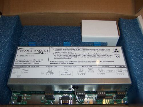 Used lutron homeworks 4 series 4TH generation processor