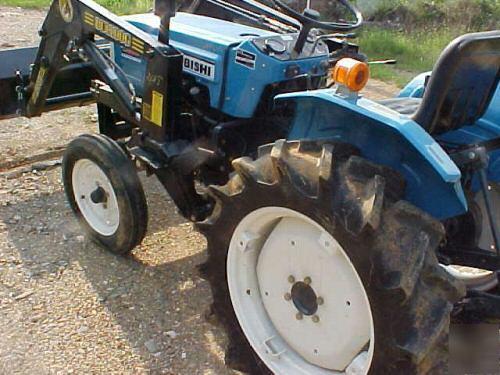 Mitsubishi Compact Tractors : Mitsubishi d ii compact diesel tractor