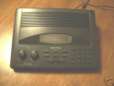 Radio shack pro-2034 police fire radio scanner