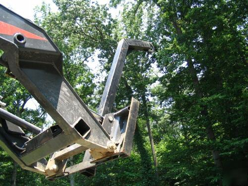 Lifting boom tree truss engine crane skidsteer loader