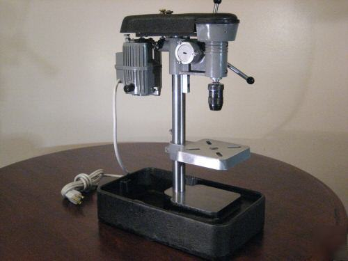 Cameron micro drill press watchmakers lathe servo