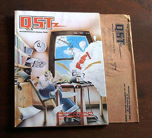 1978 may qst amateur ham radio magazine shortwave arrl