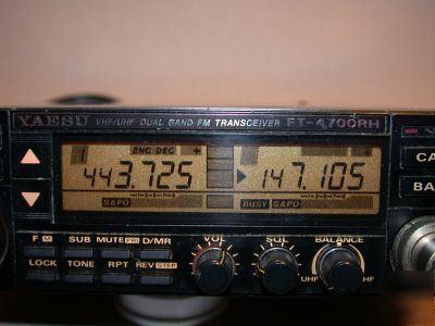 radio schematics yaesu ft 4700rh vhf uhf mobile 50 40 w nice #13