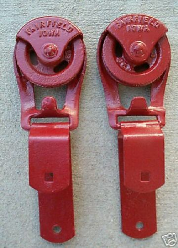 Louden Roll Easy Farm Barn Door Rollers Old