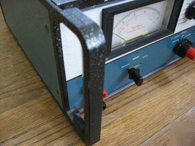Heathkit harmonic distortion analyzer model im-5258