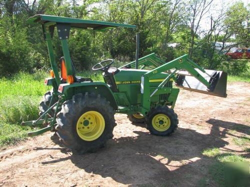 Mint John Deere 770 4x4 Tractor W Loader P S 239hrs