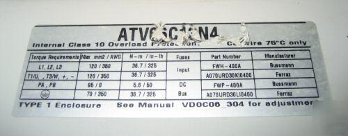 Telemecanique Vfd Altivar 11 User Manual