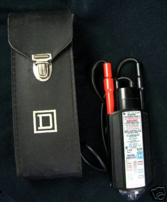 Wiggy Voltage Tester Class D 6610 W Leather Case