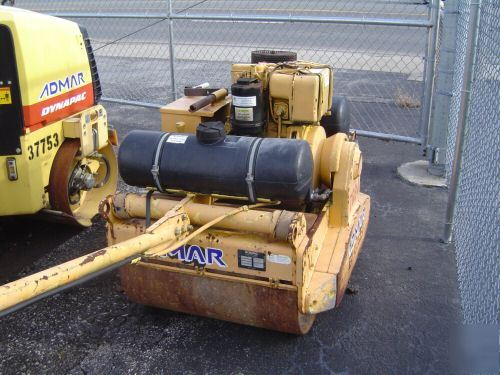 Bomag Bw75s Walk Behind Double Drum Roller