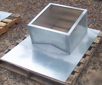 Pitched Roof Curb For Metal Building Or Shingle Roof
