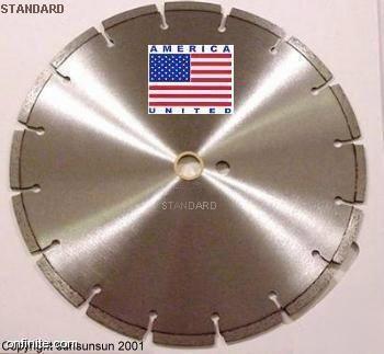 12 Quot Concrete Saw Diamond Blade 4 Stihl Partner Usa Made