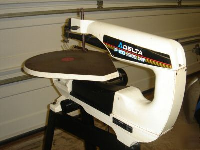 Scroll Saw Delta 20 Quot Model 40 680