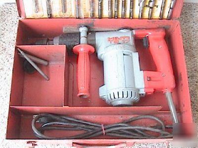 hilti te17 te 17 rotary hammer drill w bits no res. Black Bedroom Furniture Sets. Home Design Ideas