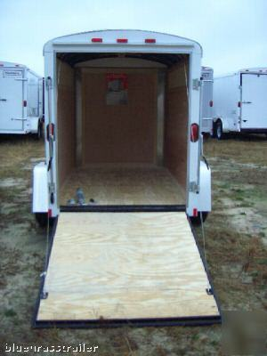 Haulmark 5x8 Enclosed Cargo Trailer Ramp Door 88917