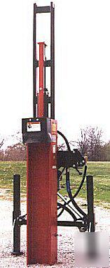 Worksaver hpd-20 3PT 3 point post driver post pounder