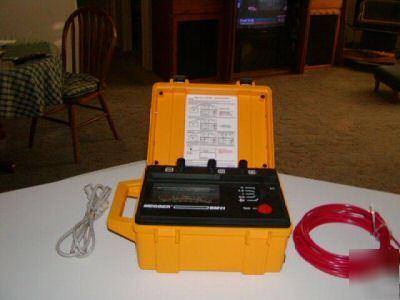 Biddle Megger Bm11 5kv Insulation Tester