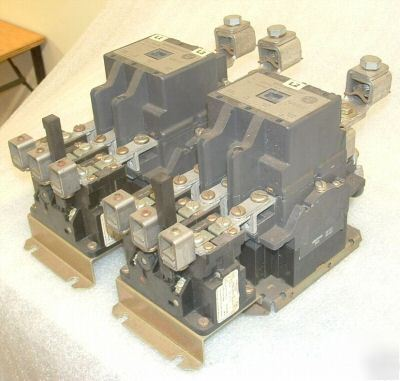 New 2 westinghouse 100 hp 135a size 4 motor starters for Westinghouse motor starter parts