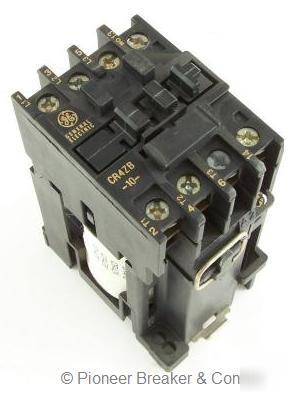 New ge s s magnetic contactor CR4ZBL 3P 24VDC 1NO