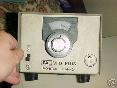 Pal vfo-plus monitor scanner thingy