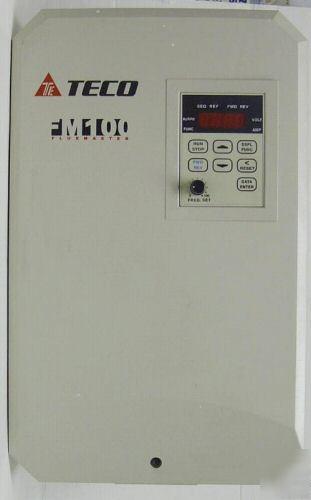 Teco Fm100 Ac Inverter 15 Hp 200 230v 3 Phase W Manual