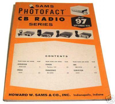 Sams photofact cb 97 september 1976 cb radio series for Lloyds motors jamestown nd
