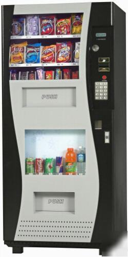 New Go 380 Combo Snack And Soda Machine By Genesis