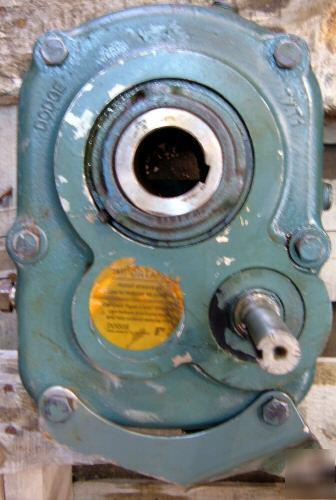 Dodge txt 1 shaft mount speed reducer 25:1