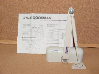 New brand ryobi doorman door closer - model # DM103UL