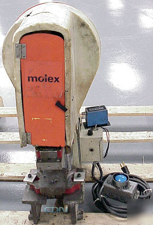 molex crimper machine