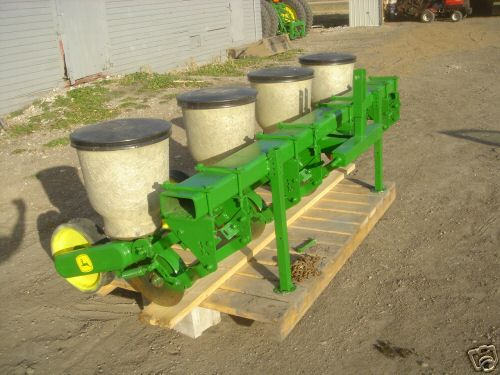 John deere 4 row 71 flex corn planter garden