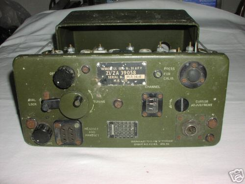 Military wireless set no. 31 afv excellent condition.