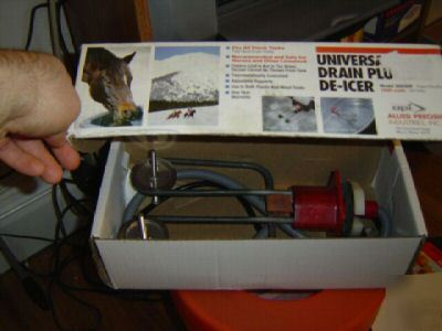 Allied Universal Drain Plug De Icer Stock Tank Heater