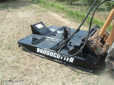 Brush Cutter Bush Hog For Skid Steer Bobcat Etc