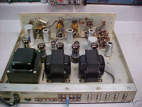 Eico st-40 tube stereo amplifier