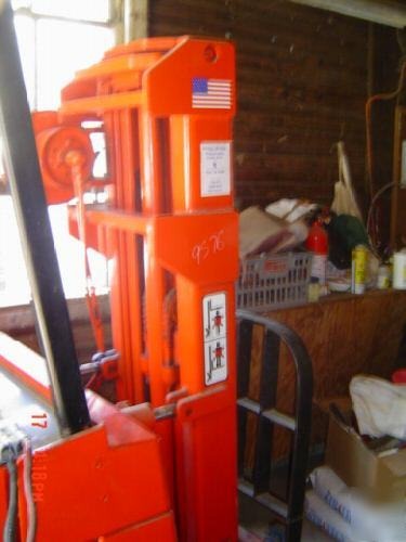 Raymond Forklift Standup Model With 36v Charger