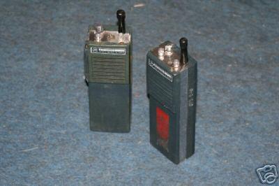Old Motorola Police Radio