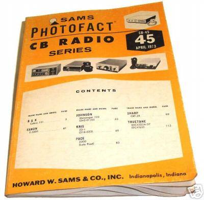 Sams photofact cb 45 april 1973 cb radio series for Lloyds motors jamestown nd